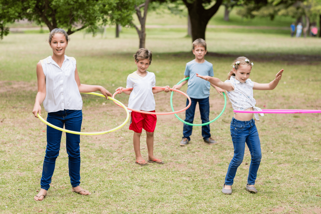 Children's Parties Hula Hoops DJ Entertainment