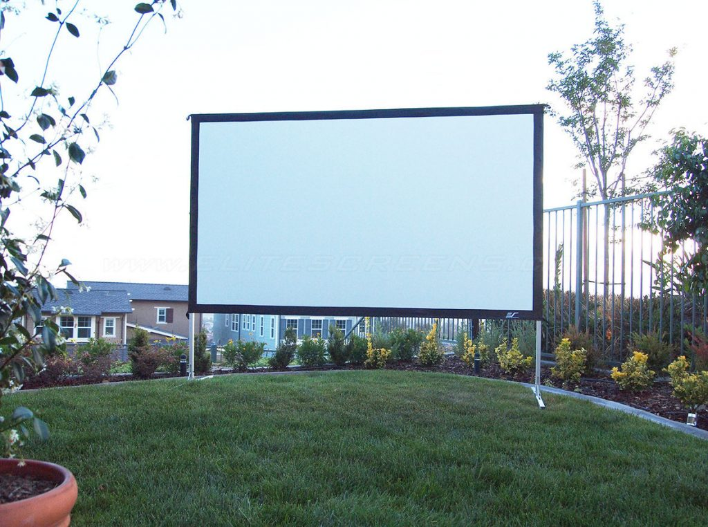 Projections screen Yard Master 2