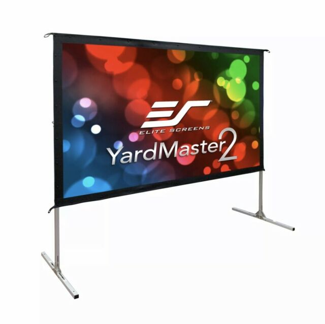 Elite Screen Yard Master 2 Front